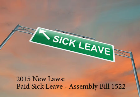 New Paid Sick Leave Law California