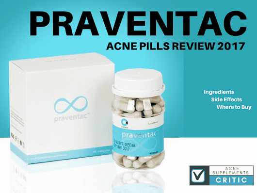 Praventac Acne Pills Review – What are the Ingredients and Side Effects? | Acne Supplements Critic