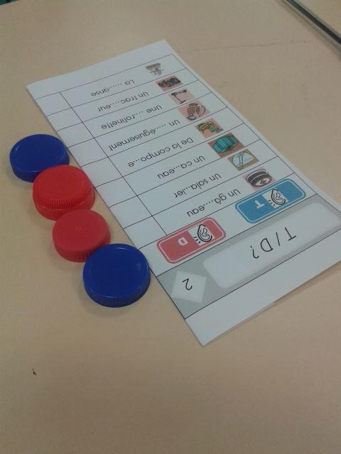 Les cartes à choix multiples : les confusions de sons CP/CE1
