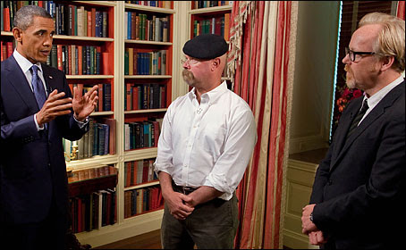 Obama's Nerdy Goodbye Video Message to Mythbusters Is a New Level of 'Dad'