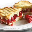 Tasty Tuesday: White Chocolate, Mascarpone Cheese & Raspberry Panini #dessert #recipe from #romance #author Amy Rivers #ValentinesDay