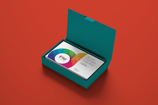 Business Card Mockup PSD | PSD Graphics