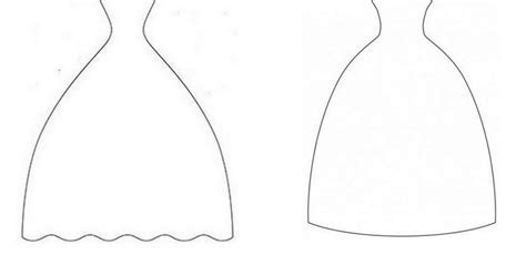 Bride Wedding Dress Templates.   Oh My Fiesta Wedding!
