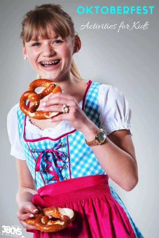Oktoberfest Activities and Crafts for Kids