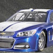 Chevy Debuts SS-Based NASCAR Sprint Cup Racer In Las Vegas