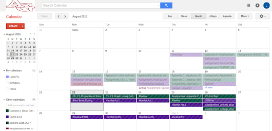 Introduction to Google Calendars – Larry