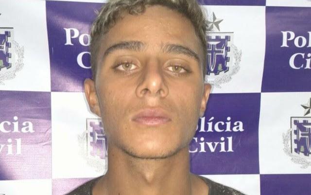 Dionatan foi preso por latrocínio e aguarda decisão judicial (Foto: Divulgação/Polícia Civil