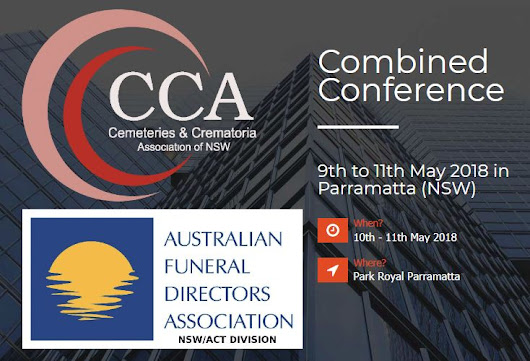 Cemeteries & Crematoria Association - Update - Combined CCANSW and AFDA NSW/ACT Conference - Cemeteries & Crematoria Association