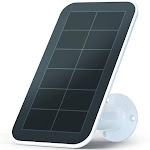 Arlo - Solar Panel Charger for Arlo Ultra/Pro 3 Security Cameras - White/Black