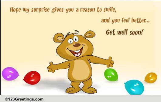 Smile And Get Well Soon!