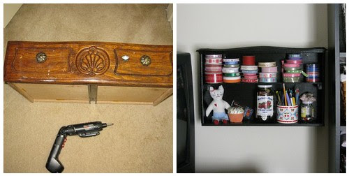 Drawer to Shelf