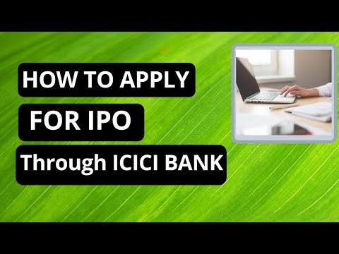 How to apply for IPO in ICICI net banking
