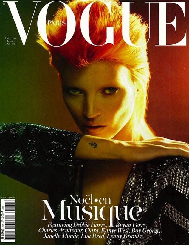 Kate Moss Canais David Bowie