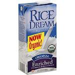Rice Dream Organic Enriched Rice Drink, Original - 32 fl oz carton