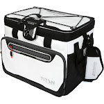 Arctic Zone Titan 30-Can Zipperless Cooler - White