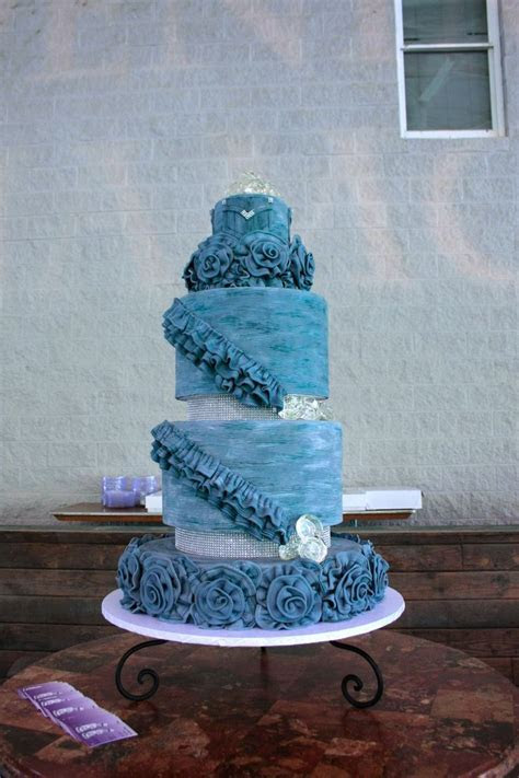 Denim & Diamond Cake by Bakers Man   Denim & Diamonds 2013