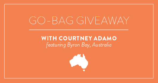 The Go Bag Giveaway: curated by Courtney from Babyccino