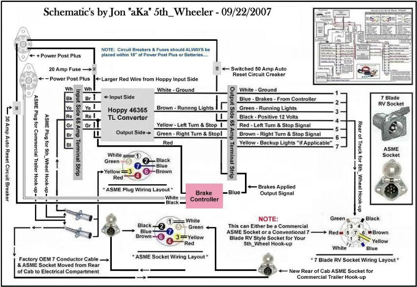 Semi Truck Wiring Diagram