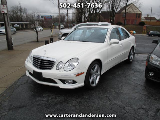 Used 2009 Mercedes-Benz E-Class for Sale in Louisville KY 40204 Carter & Anderson Motorsports