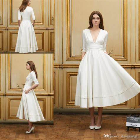 Discount 2018 Short Beach Wedding Dresses Delphine Manivet