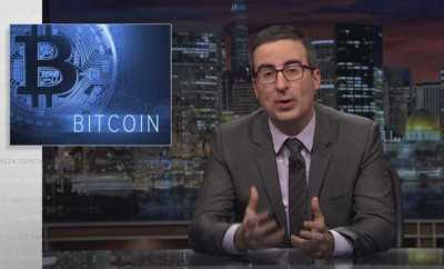Last Week Tonight Host John Oliver Talks About Cryptocurrencies - GameNGadgets