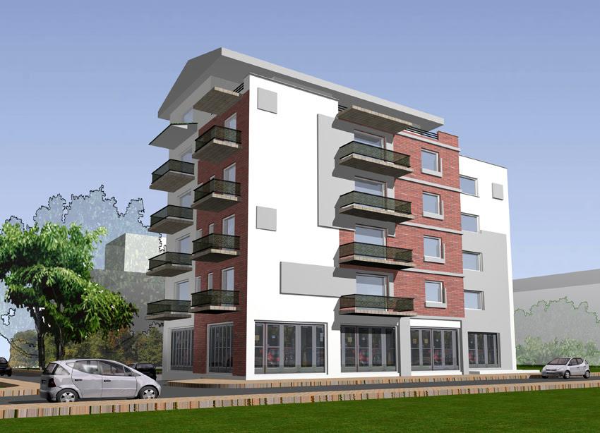 Plain Small Apartment Design Exterior Designs Architectural