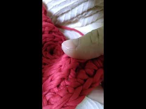 Cesto em crochê,  ponto caracol/espiral , fio de malha...|parte 03|
