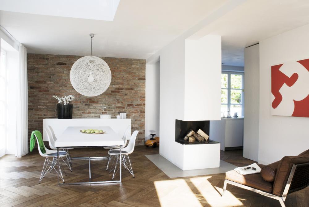 Wohnzimmer Mit Essecke Modern Interessant On Und Awesome ...