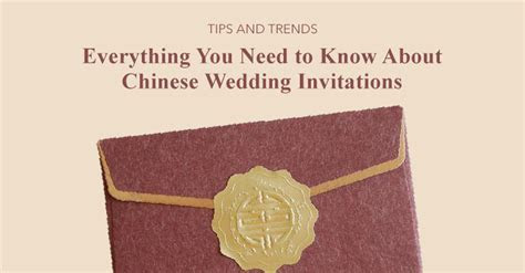 Chinese Wedding Invitations Etiquette   Hong Kong Wedding Blog