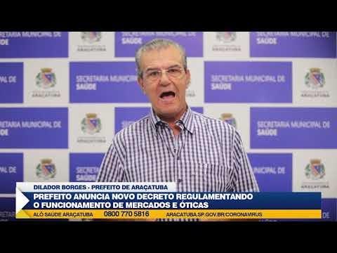 Decreto regulamenta acesso a supermercados em Araçatuba