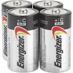 Energizer Max E93BP-4 Battery - C - Alkaline