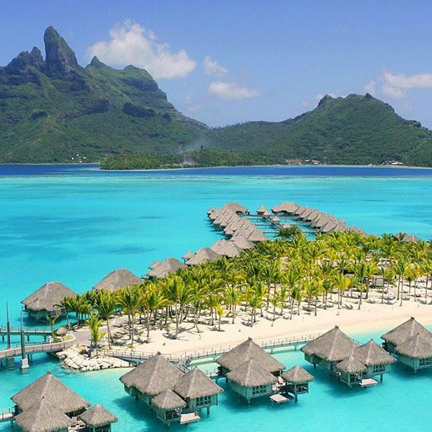Toda a beleza da Polinésia Francesa! (Foto: Reprodução)
