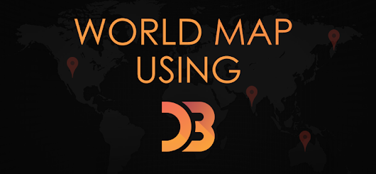 World Map Using D3 JavaScript library | Geeks Trick