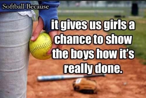 20 Motivational Softball Quotes