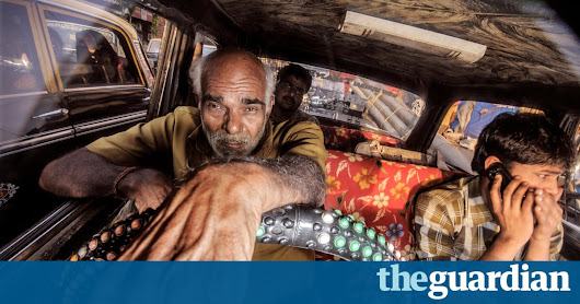 Out of my way! The colour and chaos of Mumbai's customised taxis – in pictures | Art and design | The Guardian