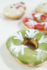 Snow Green Apple, Holiday Dozen Box, Krispy Kreme Doughnuts, Shinjuku
