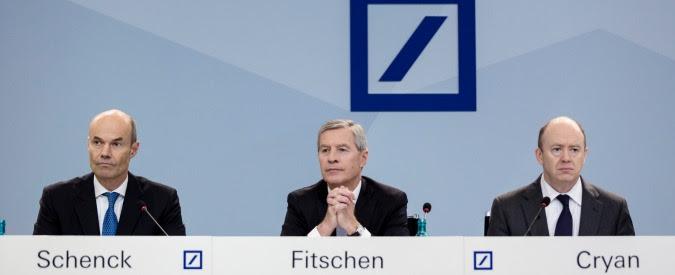 Deutsche Bank, il primo istituto tedesco spolpato dagli illeciti e il rischio di un effetto domino sul sistema finanziario