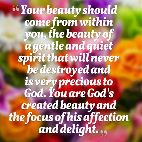 Natural Beauty Comes From Within Quotes