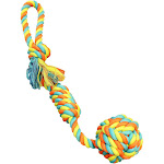 Boss Pet WB15513 Toy Pet Tug Rope Fist