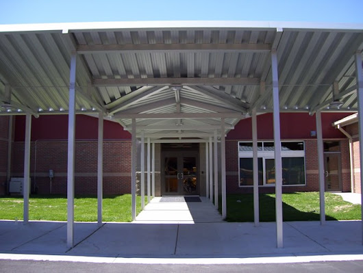 Gabled Canopies for Buildings | Gabled Canopy Designs