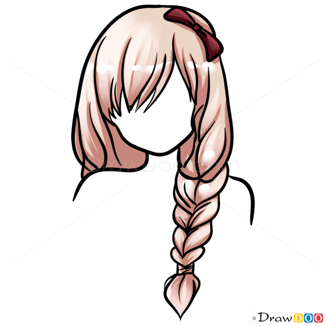 Drawing Hairstyles Easy Lesson Step by Step Drawing