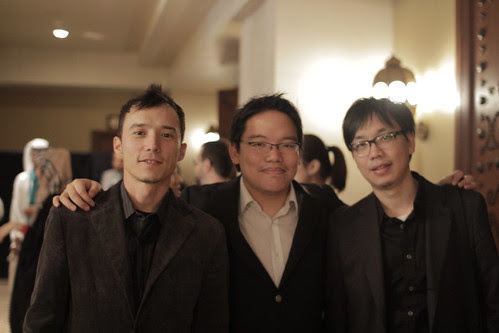 With Epy Quizon and Hou Chi-Jan