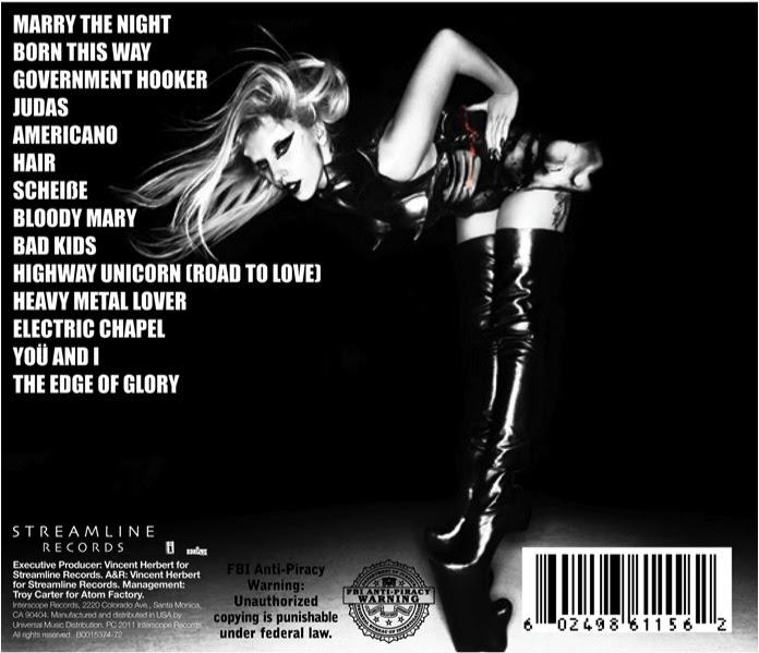 "lady gaga born this way deluxe cd cover. Lady Gaga ""Born This Way"""