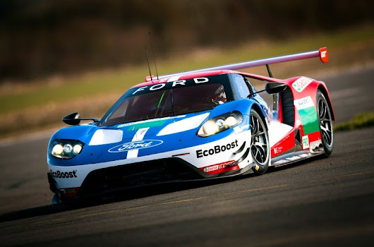 Ford GT Team Pleased With FIA WEC Prologue Test