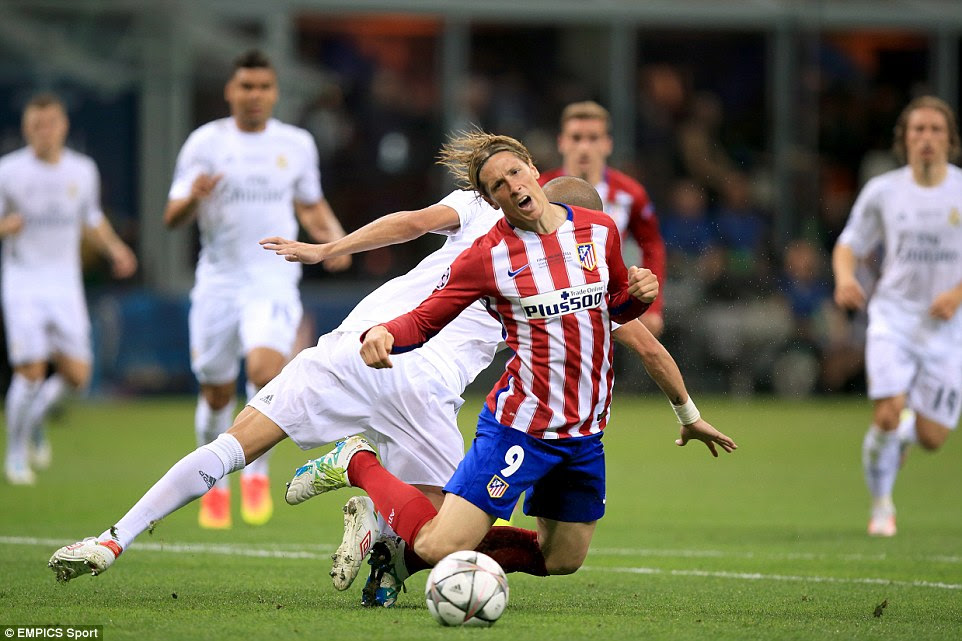 Torres - who failed to complete a single pass in the first half - earned his side a penalty early in the second period after Pepe's foul