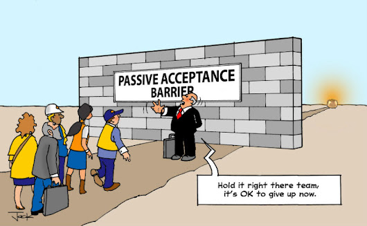 Overcoming Four Big Barriers to a Lean Culture Part 4 – Stopping Passive Acceptance - TXM Lean Solutions