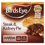 Calories in Birds Eye Steak & Kidney Pie 155g, Nutrition ...