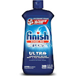 Finish Jet-Dry Ultra Rinse Aid, 32oz, Dishwasher Rinse Agent & Drying Agent