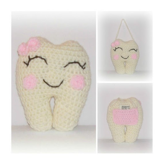 Pink Tooth Fairy Crochet Pretty In Pink Beige Tooth Fairy Door