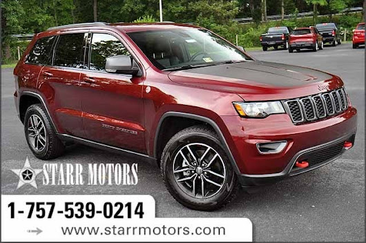 Used 2017 Jeep Grand Cherokee Trailhawk For Sale | Suffolk VA